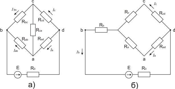 Рис. Схема замещения мостовой